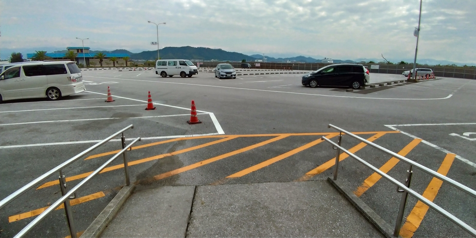 桂浜駐車場スペース