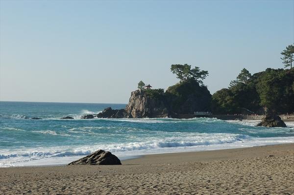 午前に撮影した竜王岬