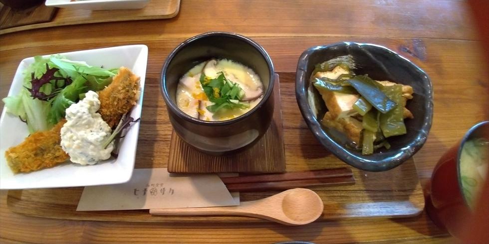海町食堂 ヒナサク (この日のランチ[3品])