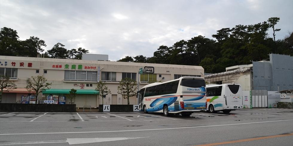 団体観光ツァー客の桂浜観光のルートについて