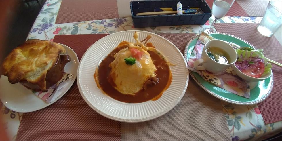 レストラン ピック (おすすめセット オムライスのセット)