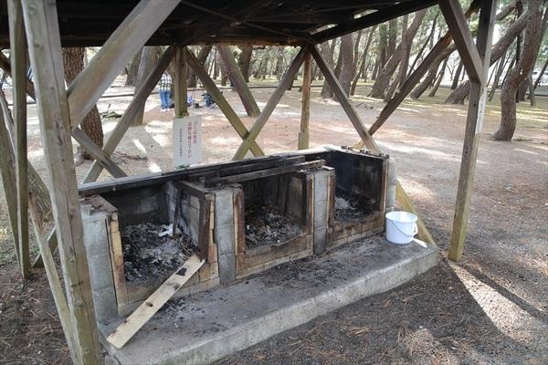 種崎千松公園 炊き場