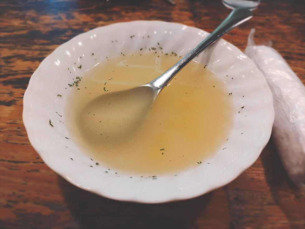 鳥心のコンソメスープ