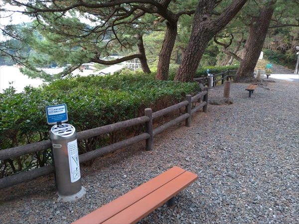 桂浜公園の喫煙所(4)