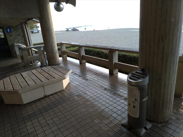 桂浜公園の喫煙所(7)