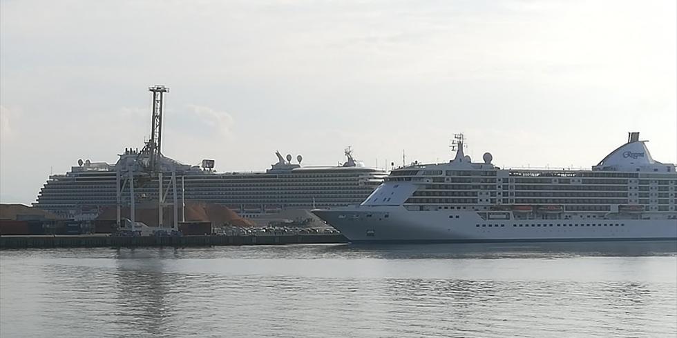 高知新港に入港するクルーズ客船(4)