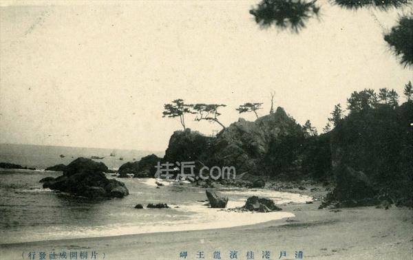 昔の桂浜 (竜王岬を望む1)