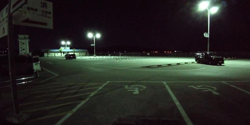 元旦早朝の桂浜の渋滞や駐車場の空き情報(1)