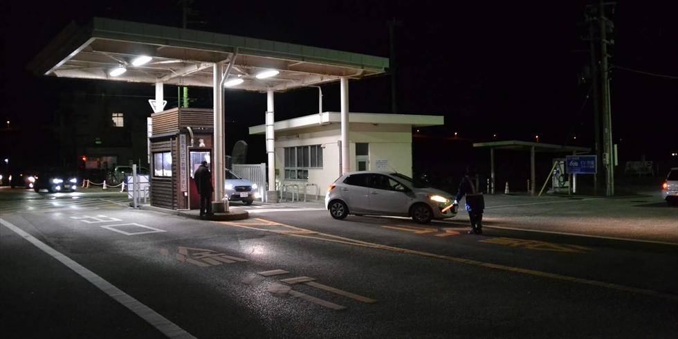 元旦早朝の桂浜の渋滞や駐車場の空き情報(4)