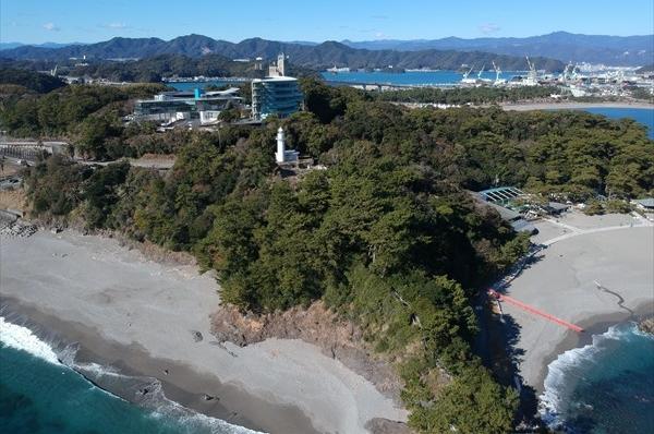 Scenic spot Katsurahama (Katsura-hama(west beach,main beach))