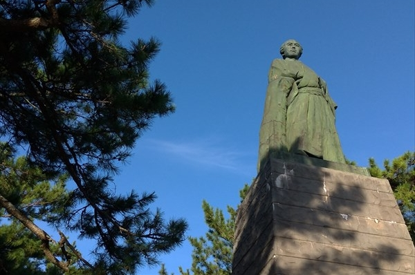 名勝 桂浜 (坂本竜馬の銅像)