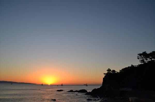 名勝 桂浜 (箱庭的な自然美の桂浜)