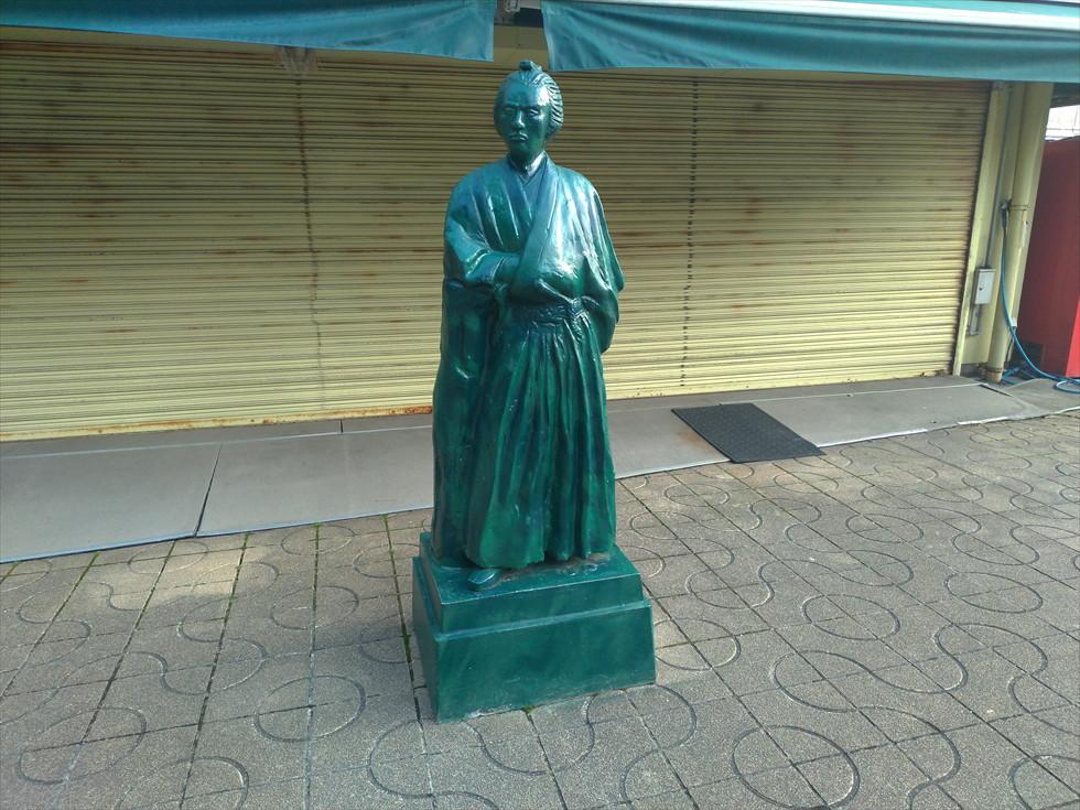 坂本龍馬像(ミニ)