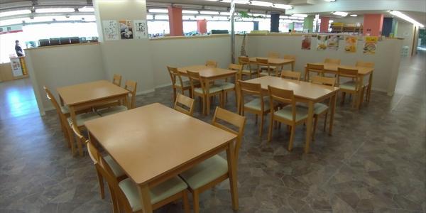 桂浜のお土産店 龍馬の浜茶屋 (イートインコーナー2)
