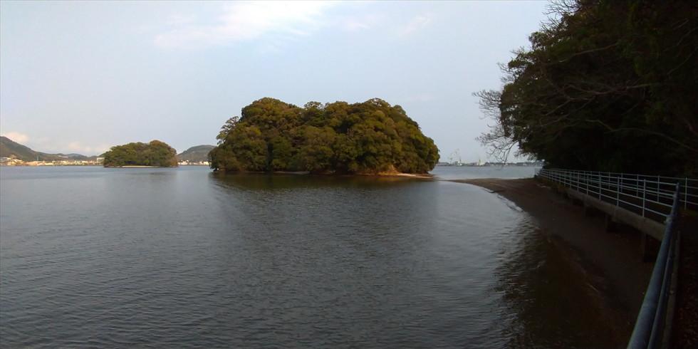【桂浜の研究】玉島と続島