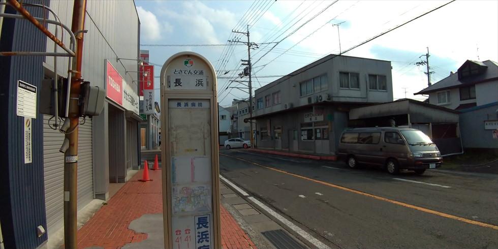 【桂浜の研究】長浜バス停