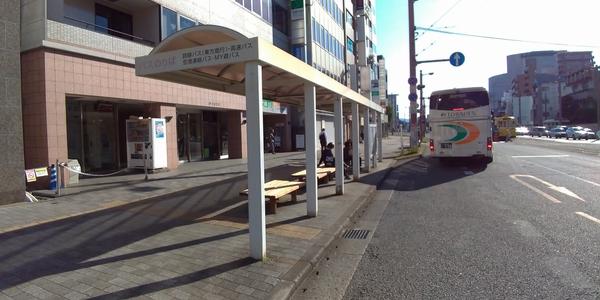 はりまや橋・バス乗り場