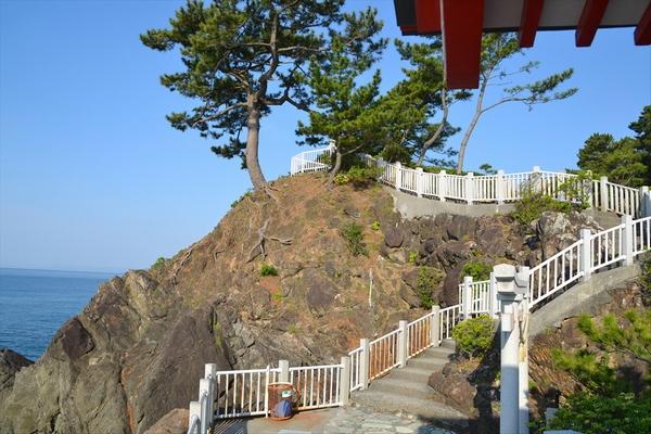遊歩道完成と竜王岬への立ち寄り(5)