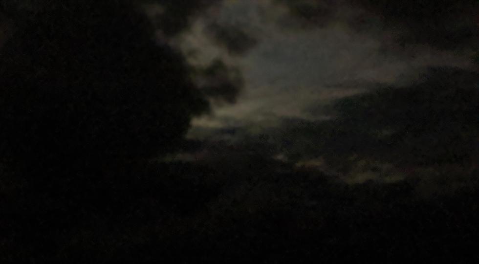 桂浜 観月会 (2019年中秋の名月)空の様子