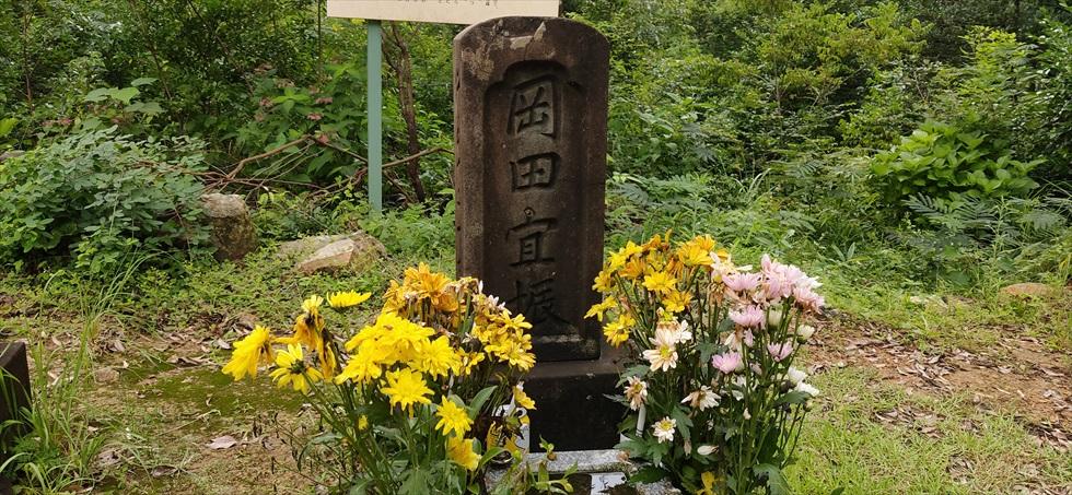 岡田以蔵の「お墓」への道順(20)