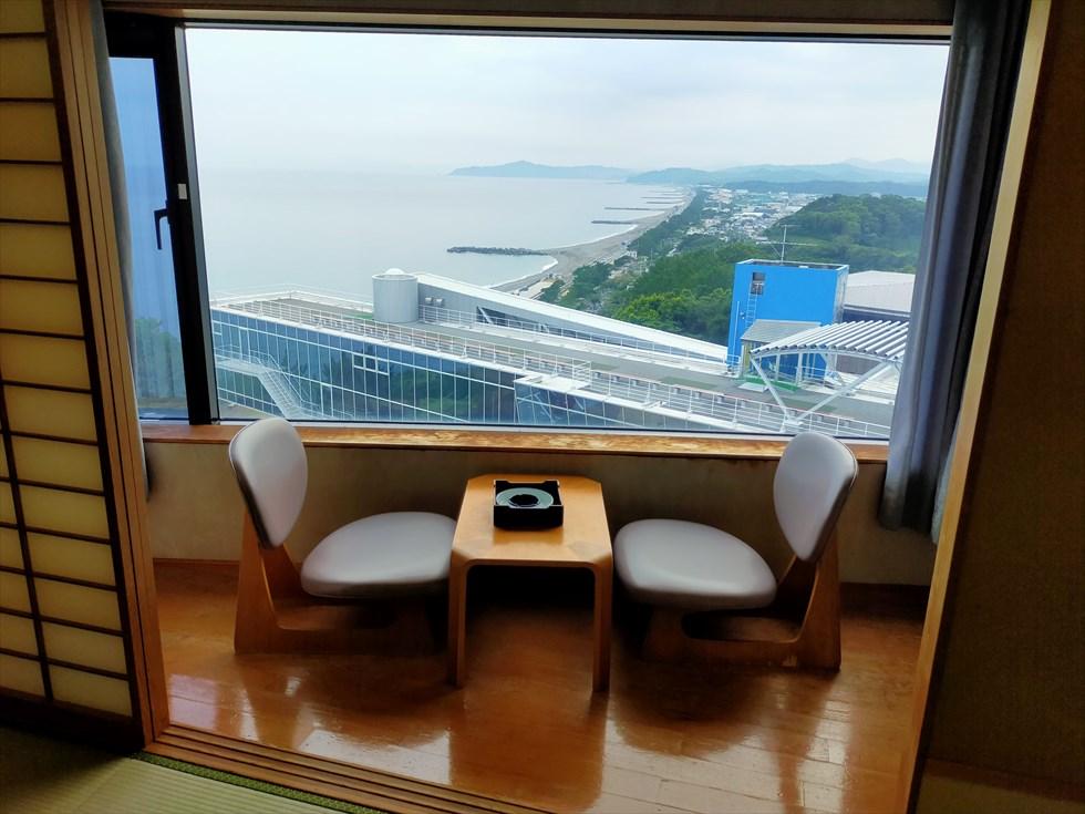 国民宿舎 桂浜荘の宿泊記(部屋からの眺望)