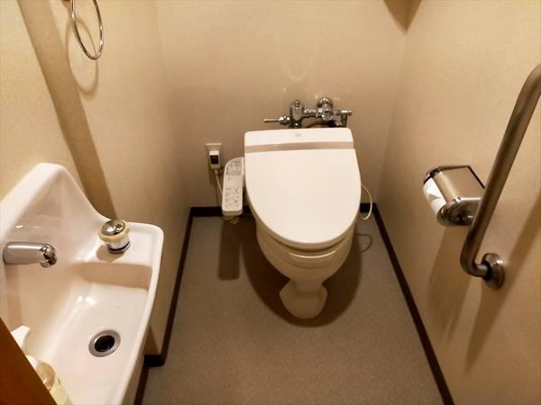 国民宿舎 桂浜荘の宿泊記(トイレ)