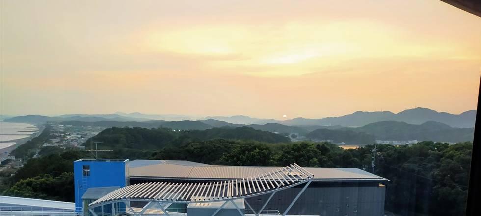 国民宿舎 桂浜荘の宿泊記(日の入)