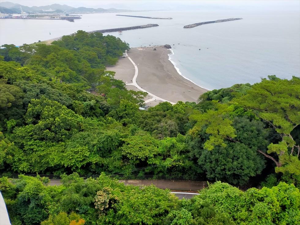 国民宿舎 桂浜荘の宿泊記(桂浜を見下ろす)