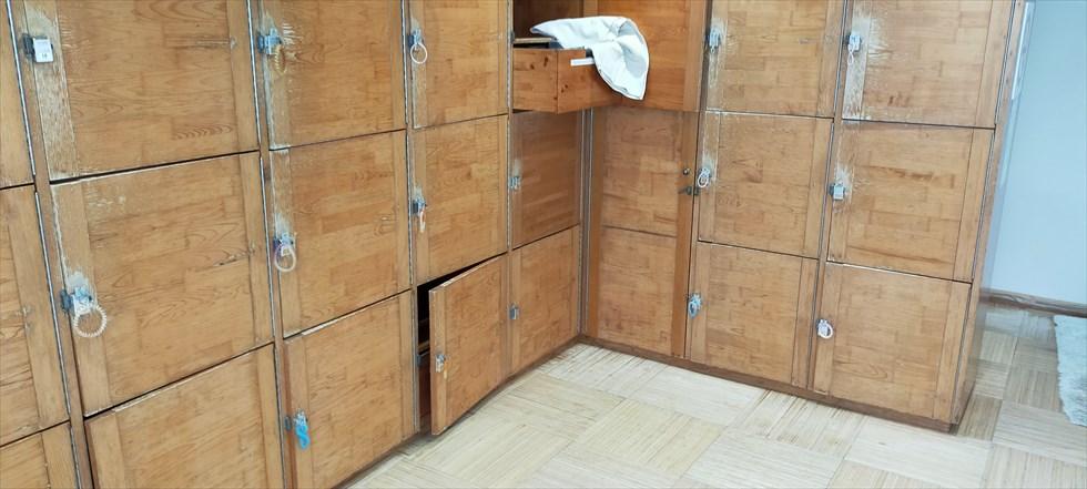国民宿舎 桂浜荘の宿泊記(脱衣ロッカー)