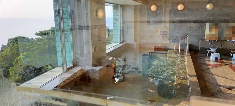 国民宿舎 桂浜荘の宿泊記(大浴場)