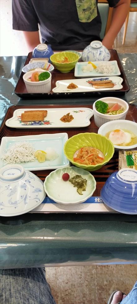 国民宿舎 桂浜荘の宿泊記(朝食1)