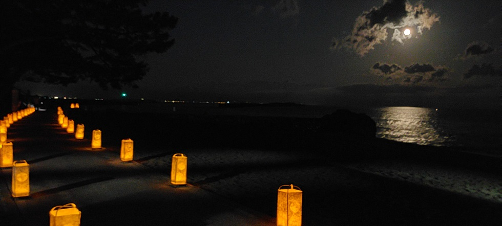 桂浜の観月会 2020年(10)